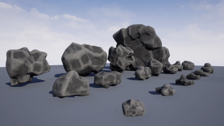 Stylized Rocks Vol 1 For Unreal Engine 4