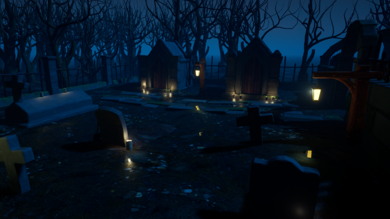 Cemetery Vol 1 For Unreal Engine Vol 1