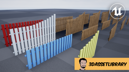 Fence Set Vol 1 For Unreal Engine 4