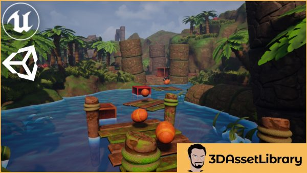 The Platformer Vol 1 for unreal and unity