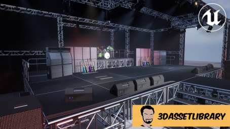 concert stage for unreal engine