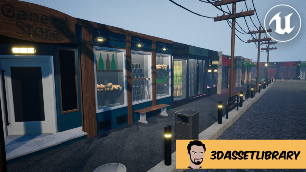 Store fronts for unreal engine