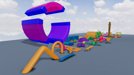 Fun Obstacle Course expansion for unity