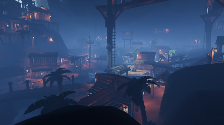 Pirate island for unity engine