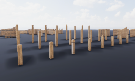 Fence assets for unity engine