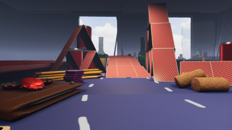 Micro racetrack for unity engine