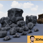Stylized Rocks Vol 1