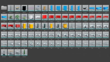 Exhibition assets for unreal engine