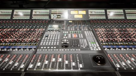 A Mixing Desk for Unreal Engine