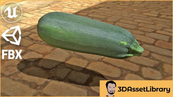 Courgette Whole for FBX, Unreal & Unity
