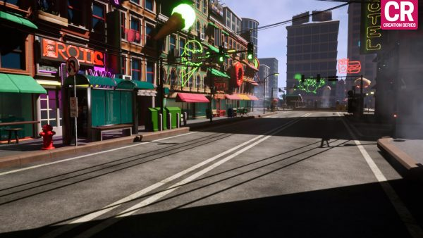 CR Series - City Pack For Unreal Engine